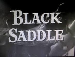 black saddle